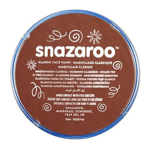 Snazaroo Face & Body Paint - Rust Brown