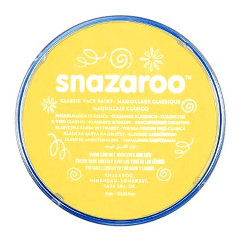 Snazaroo Face & Body Paint - Bright Yellow