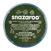 Snazaroo Face & Body Paint - Dark Green