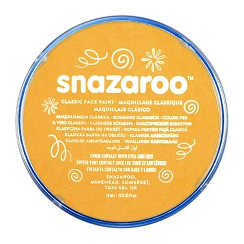 Snazaroo Face & Body Paint - Ochre Yellow