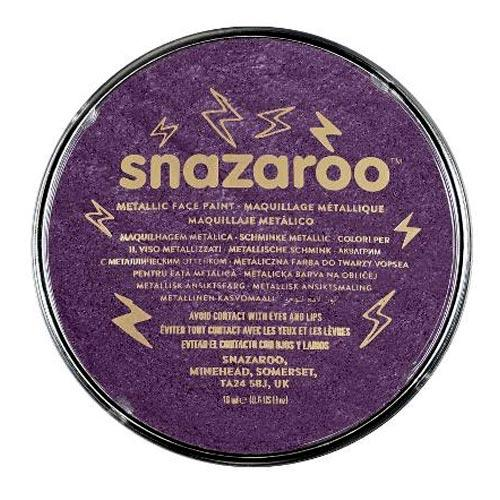 Snazaroo Face & Body Paint - Metallic Electric Purple