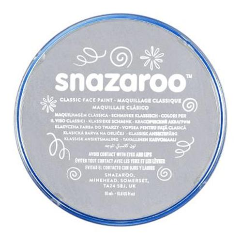 Snazaroo Face & Body Paint - Light Grey