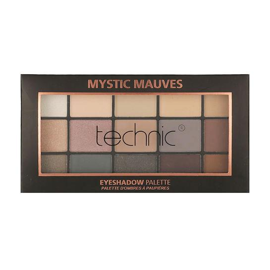 Technic 15 Eyeshadow Palette - Mystic Mauves