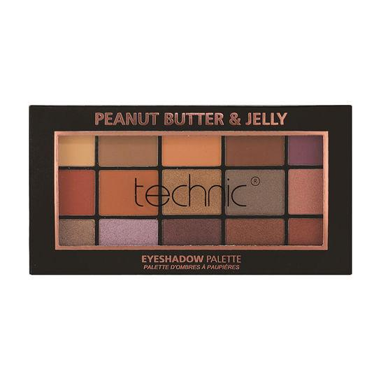 Technic 15 Eyeshadow Palette - Peanut Butter And Jelly