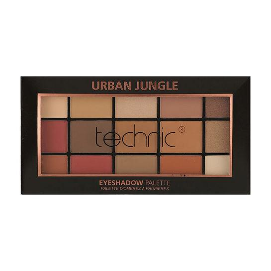 Technic 15 Eyeshadow Palette - Urban Jungle