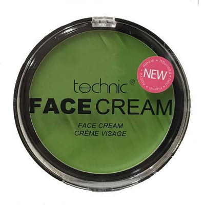 Technic Halloween Face Green Orange