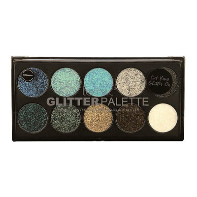 Technic Technic Pressed Glitter Palette - Mermaid - MUOBU
