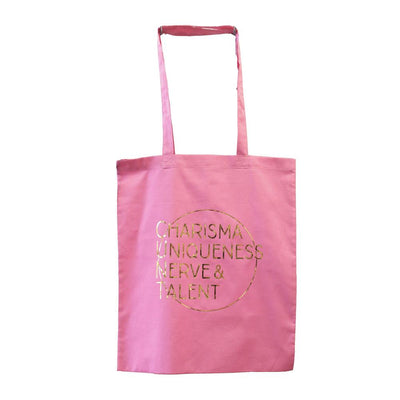 MUOBU Festival Tote Bag - Charisma Uniqueness Nerve & Talent - MUOBU