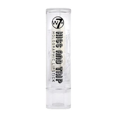 W7 Kiss And Trip Holographic Lipstick - White Hot