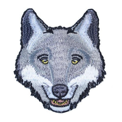 Wolf Iron-On Festival Patch