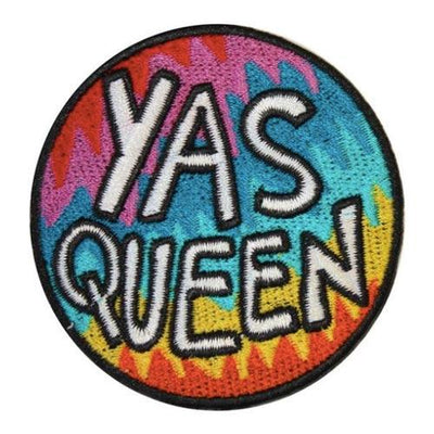 Yas Queen Iron-On Festival Patch