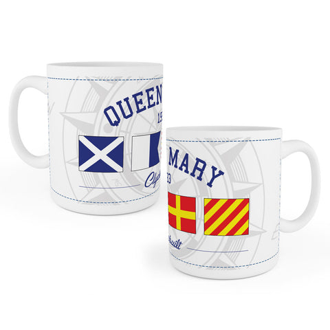 TS Queen Mary Flags Mug