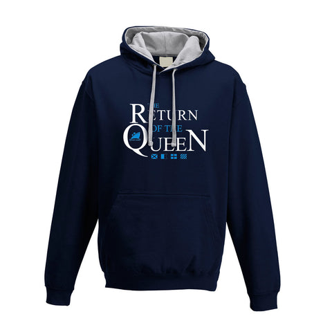 Queen Mary Navy Hooded Sweatshirt