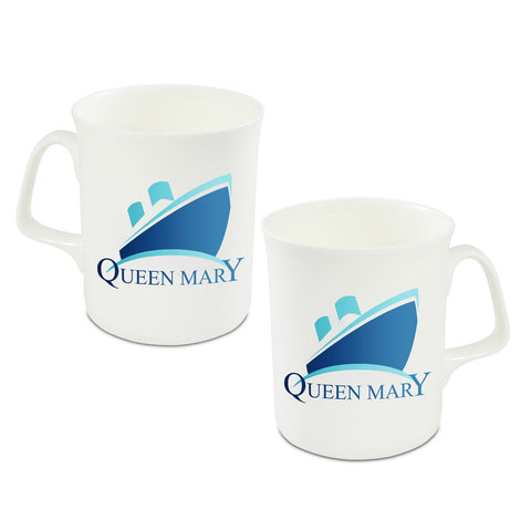 TS Queen Mary Logo China Mug