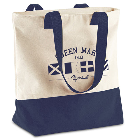 Queen Mary Flags Canvas Shopper Bag