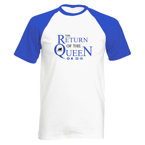 Queen Mary Baseball T-Shirt