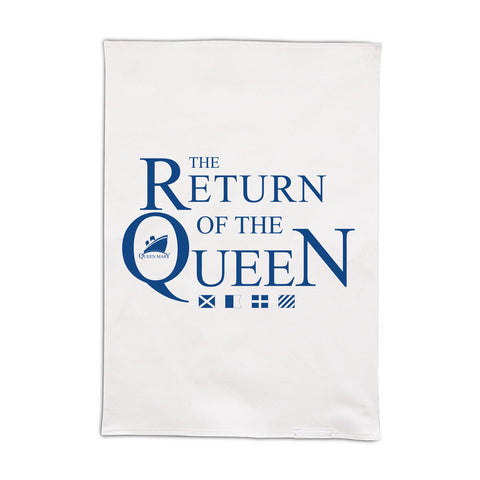 Queen Mary Cotton Tea Towel