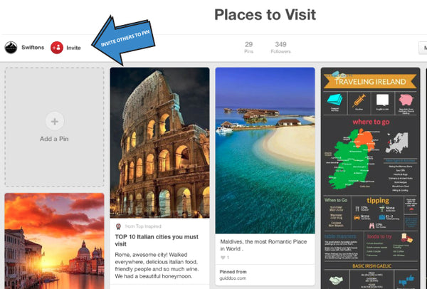 plan a holiday by consensus using pinterest