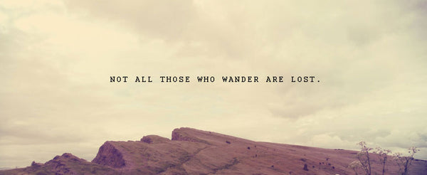 not all those who wander are lost quote