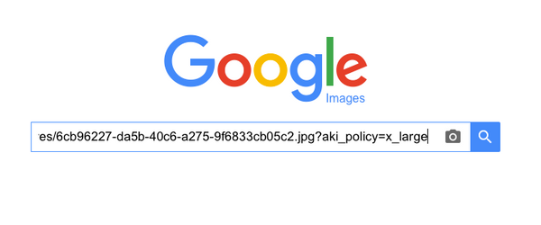 paste an image location from airbnb to google images to do a reverse image search