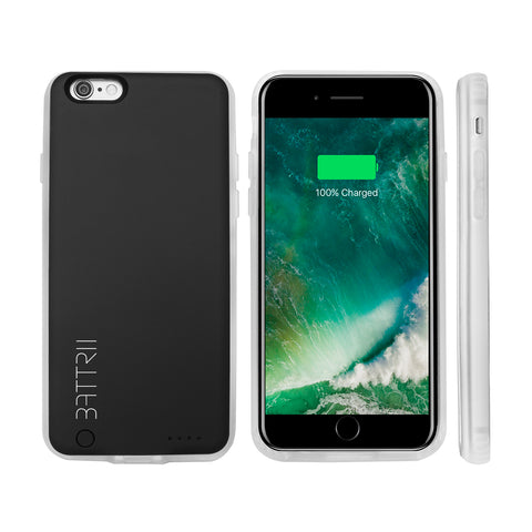 IPHONE 6 BATTERY CASE (For 6 & 6S) 11mm Ultra Slim Magnetic iPhone 6 Charging Case. 2600 mAh Cover with Lightning Port. Protective, Portable iPhone 6 Charger Case Accessory - One Year Warranty - Thin iPhone 6S Charging Case is Designed for Apple 4.7 inch