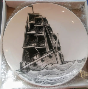 Nautical ship plate