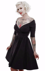 Black Loren Dress by Lucky 13