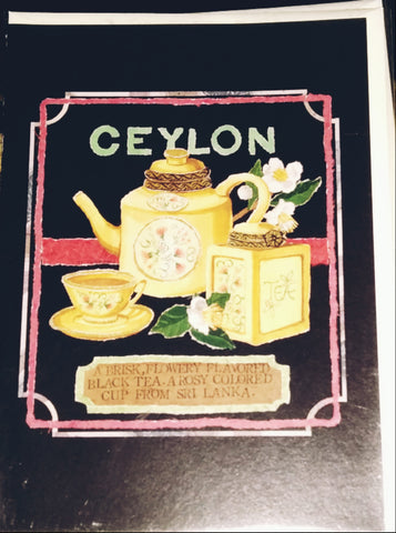 Ceylon Greeting Card