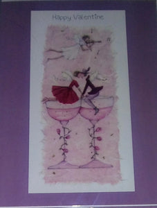 """Champagne Fairies"" Greeting Card"