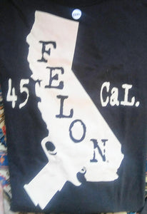 California Felon Men's t-shirt
