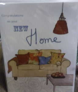 """Congratulations on your New Home""  Greeting Card"