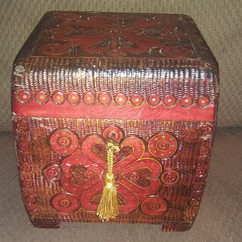 Handmade Polish Box with Key