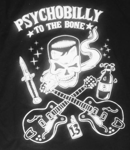 Psychobilly to the Bone Men's t-shirt