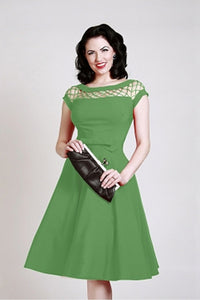 Beautiful green all season dress