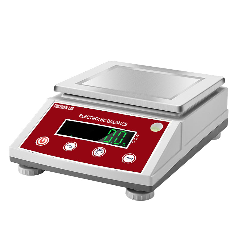 Fristaden Lab Digital Analytical Balance | 3000g x 0.01g | Computer Connection - Fristaden Lab