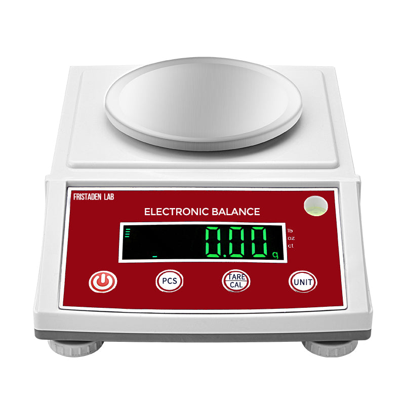 Fristaden Lab Digital Analytical Balance | 1000g x 0.01g - Fristaden Lab