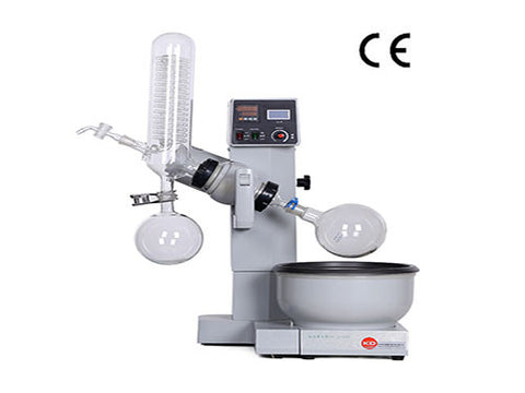 New RE-2000B Rotary Vacuum Evaporator With Glassware, Digital Display Water Bath Temperature