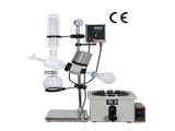 New RE-201D, 2L Small Volume Extraction Solvent Rotary Evaporator For Simple Distillation
