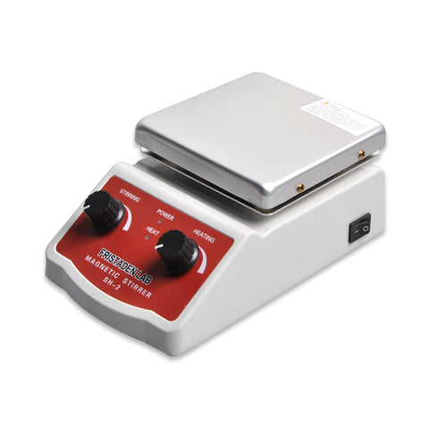 Fristaden Lab SH-2 Analog Hot Plate Magnetic Stirrer, 2L, 100-1600rmp, 350°C - Fristaden Lab