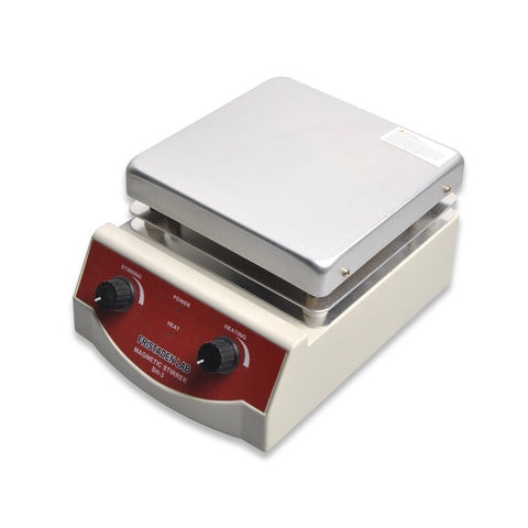 Fristaden Lab SH-3 Analog Hot Plate Magnetic Stirrer, 3L, 0-1600 rpm, 350°C - Fristaden Lab