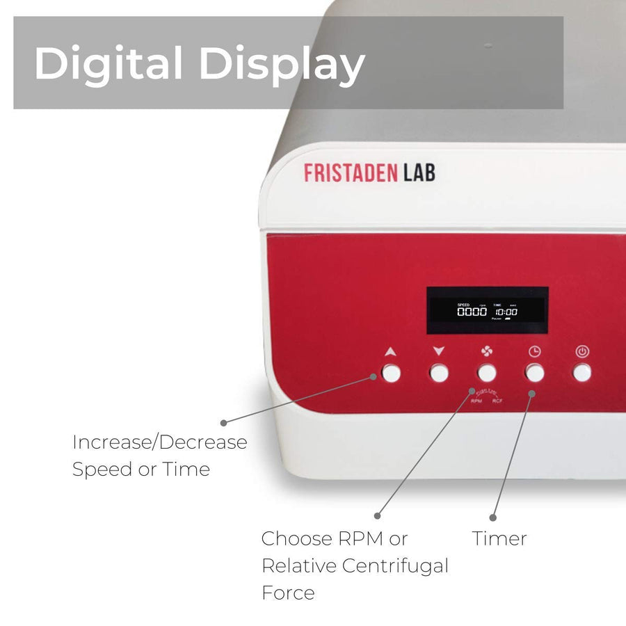 Fristaden Lab Digital Centrifuge (0-4000RPM) - Fristaden Lab