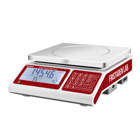 NEW! Fristaden Lab Counting Scale 30kg x 0.5g - Fristaden Lab