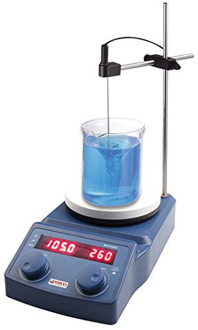 Digital Magnetic Hotplate Stirrer, 5L Capacity, 50-1500rpm, 50-320°C
