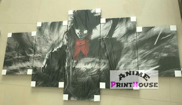 Anime 5 piece Canvas Sample