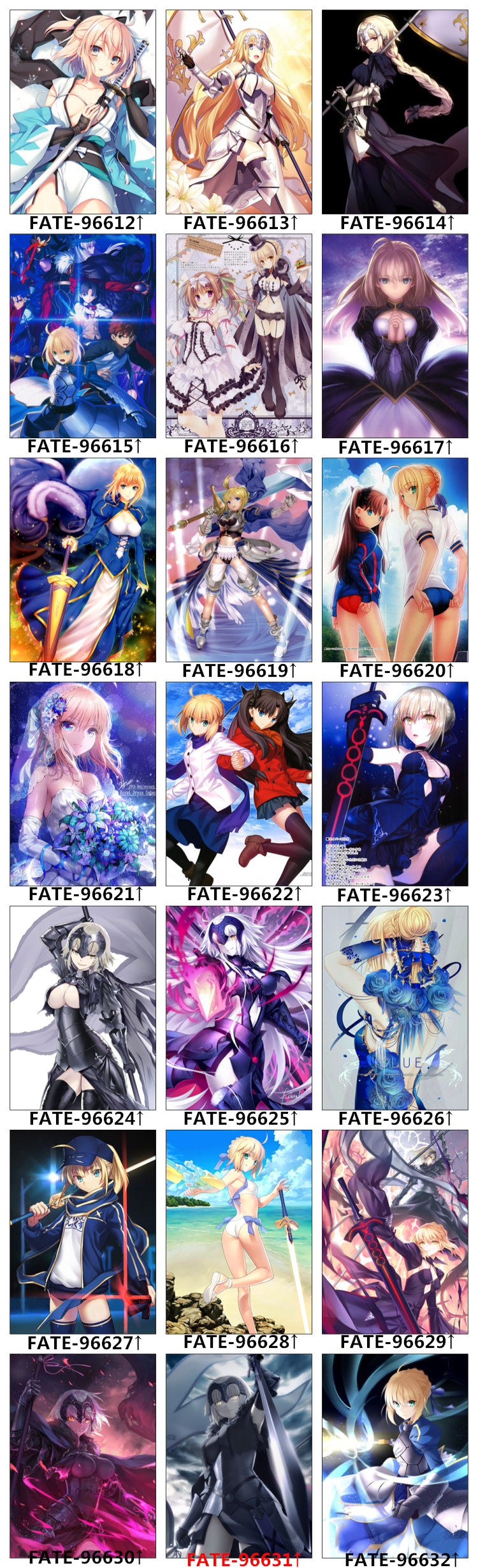 Anime Bed Set Designs - Fate Saber