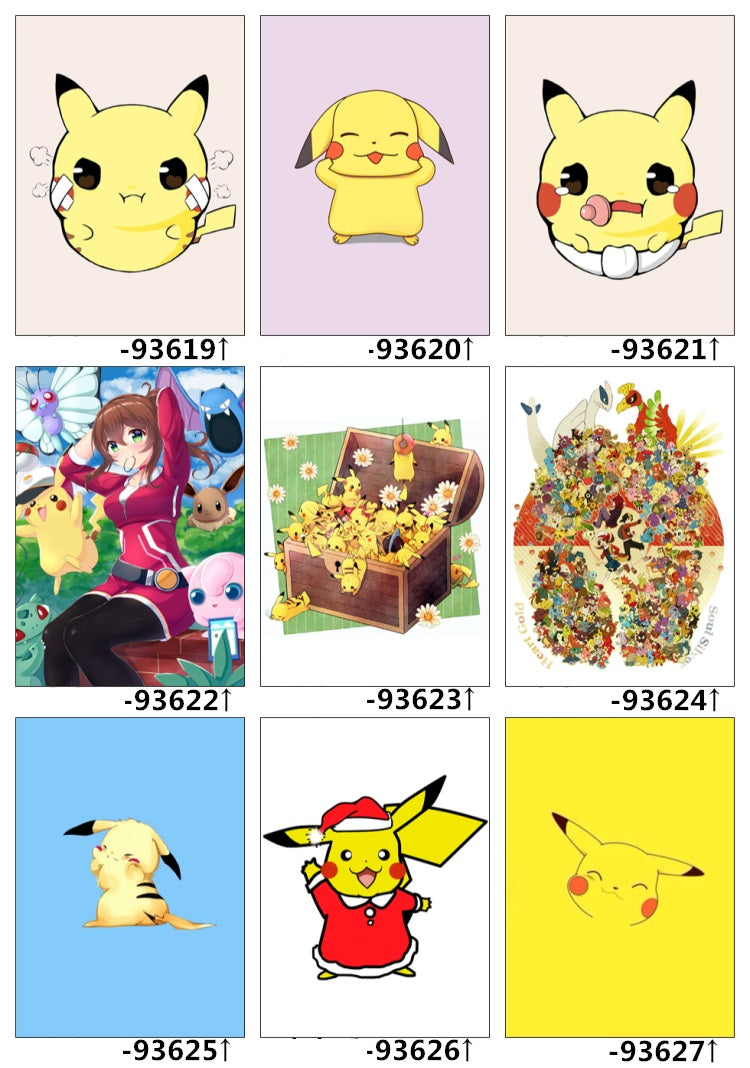 Anime Bed Set Sample - Pokemon