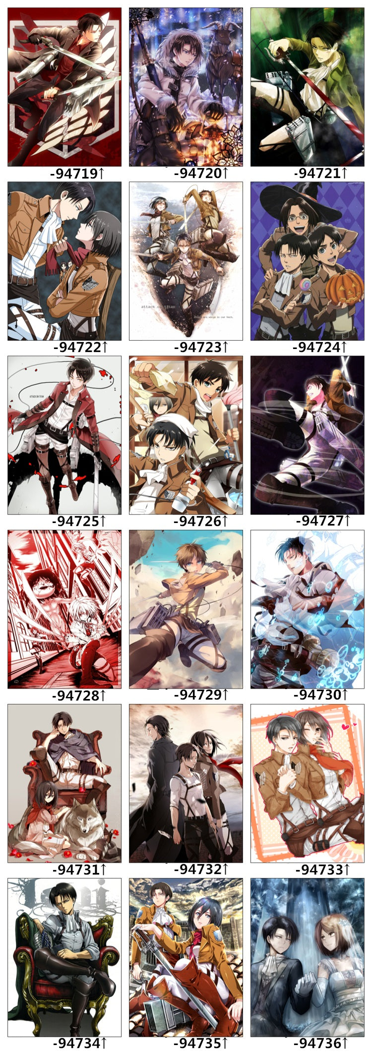 Attack on titan bed set designs