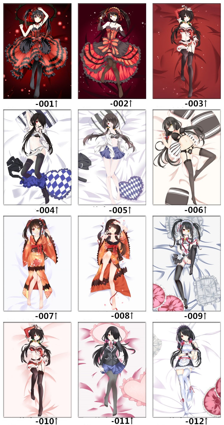 Date a Live bed set and sheets design