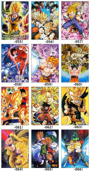 Dragon Ball Z Bedding Set, Bed Sheets Blankets and covers design options
