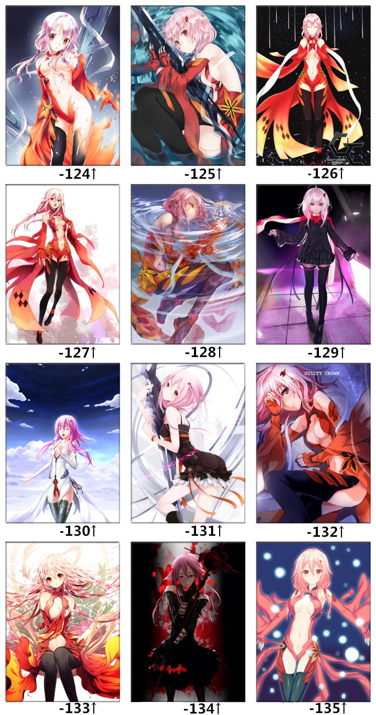 Guilty Crown Anime Bed Set Designs
